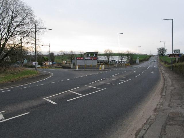Lanark Road End