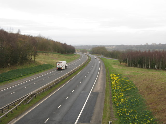 M 74 at Junction 7