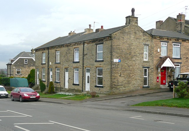 Houses, Moorside and Pearson Street, Cleckheaton