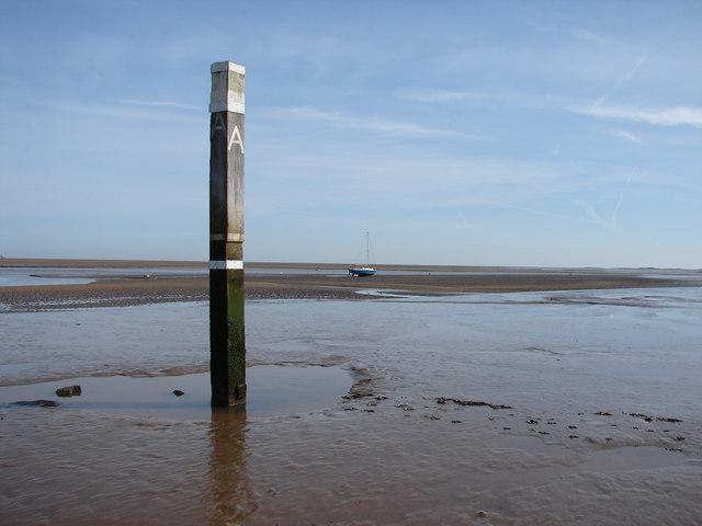 Pillar in the mud