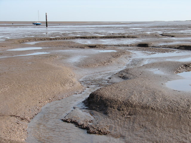 Mudflats at Humberston Fitties