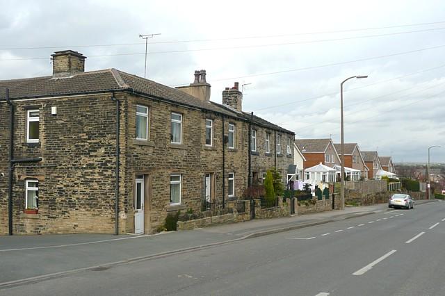 Houses, Moorside, Cleckheaton