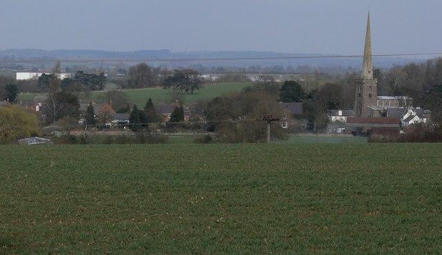 View towards Queniborough