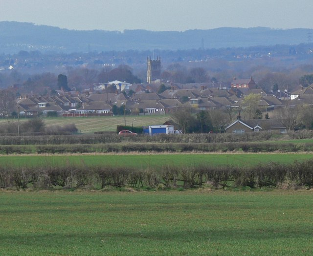 View towards Syston