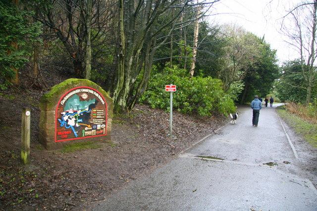 Countryside Path Network, Alva