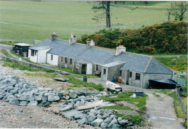 Cottage terrace, Clachan, Raasay