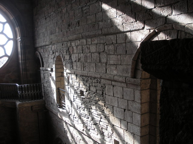 Sunlight and shadows, St Magnus Cathedral