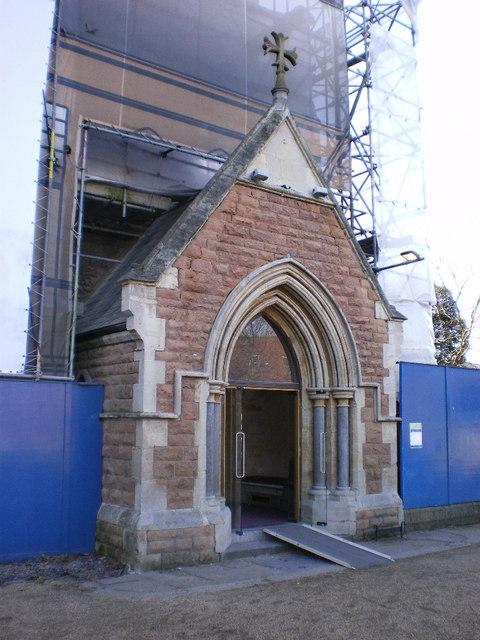 St Paul's Church, Hammersmith, Porch