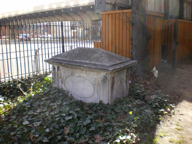 St Paul's Church, Hammersmith, Grave