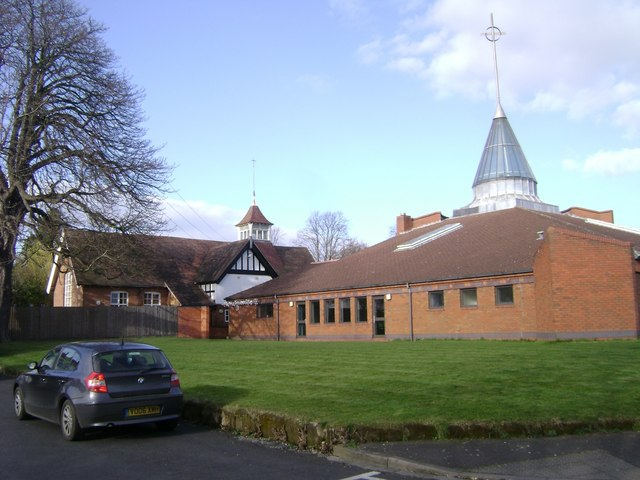 All Saints Church, Emscote,  and Church Hall, Vicarage Fields, Warwick