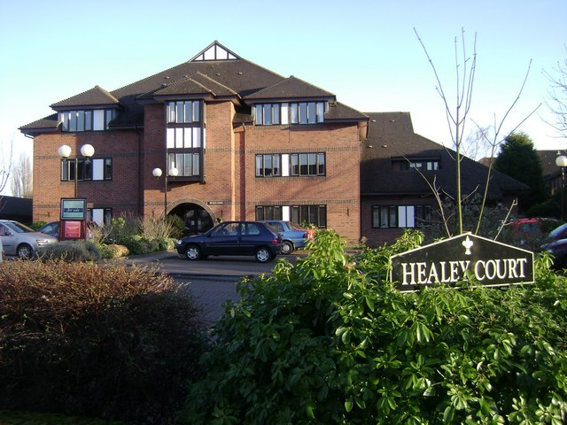 Retirement flats, Coten End, Warwick