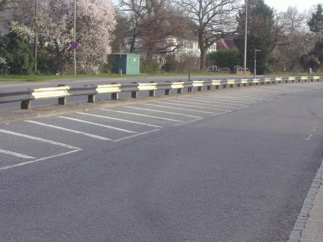 Unusual striped barrier A23