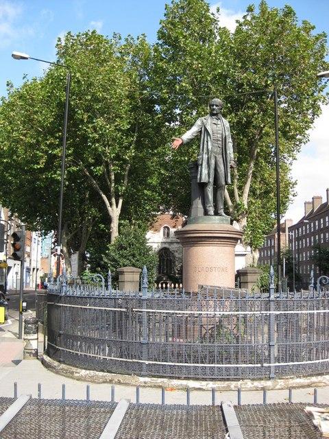 Statue of Gladstone