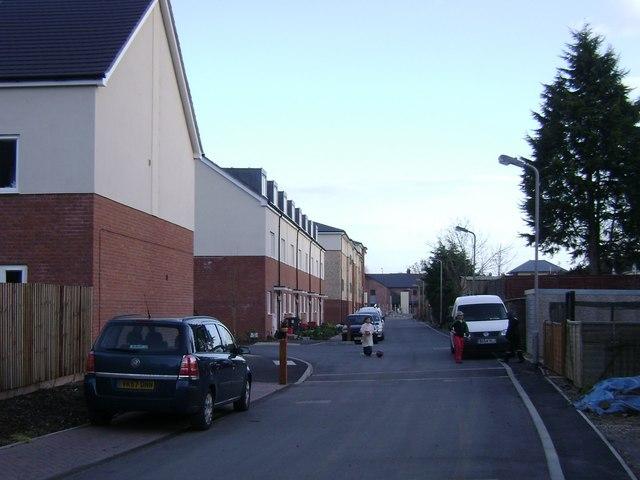 Social housing, Portobello Way, Warwick