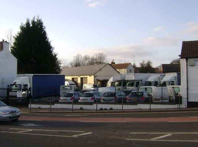 Vehicle hire business, Emscote Road, Warwick