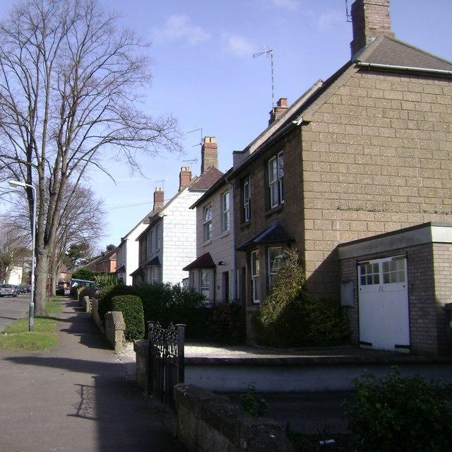Semi-detached houses, Charles Street, Warwick