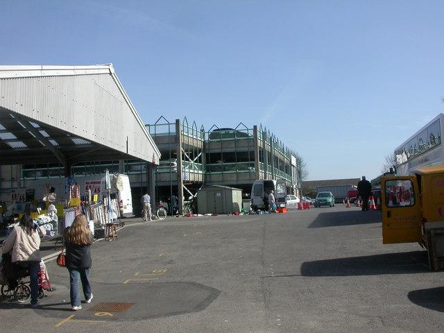 Wimborne Market, car park