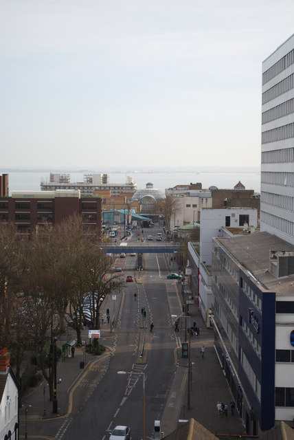 View from Victoria Circus car park