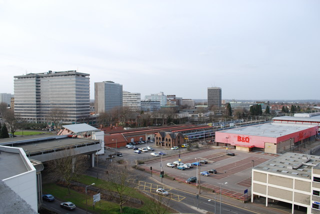 View from Victoria Plaza car park