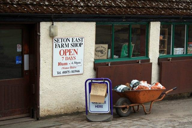 Farm Shop Entrance