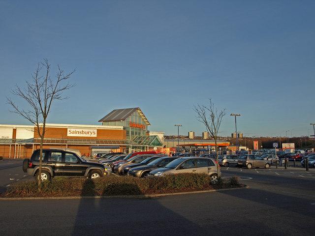 Sainsbury's Car Park, Team Valley