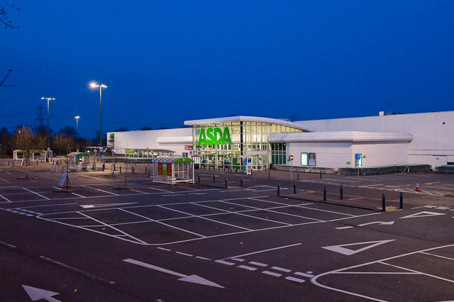 Asda superstore, Chandler's Ford