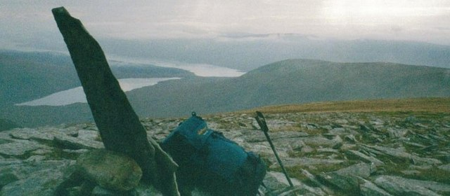 Summit of Meall an Fheur Loch
