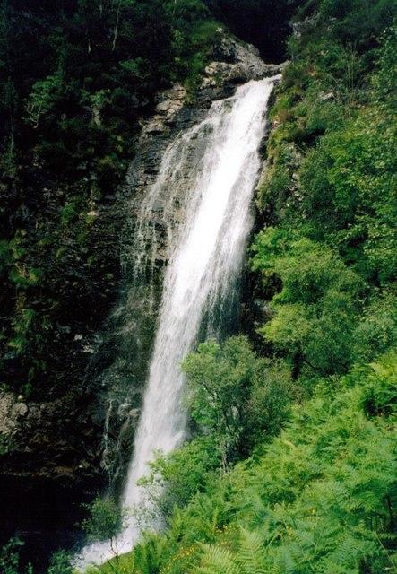 Waterfall on Kilfinnan Burn