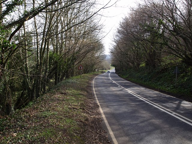 A383 at Bickington