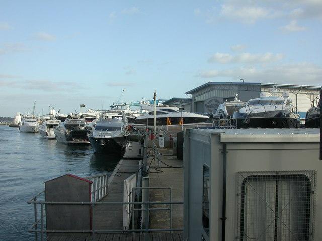 Poole, Sunseekers boatyard