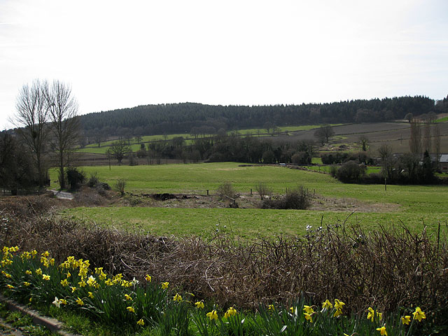 View to Fownhope Park