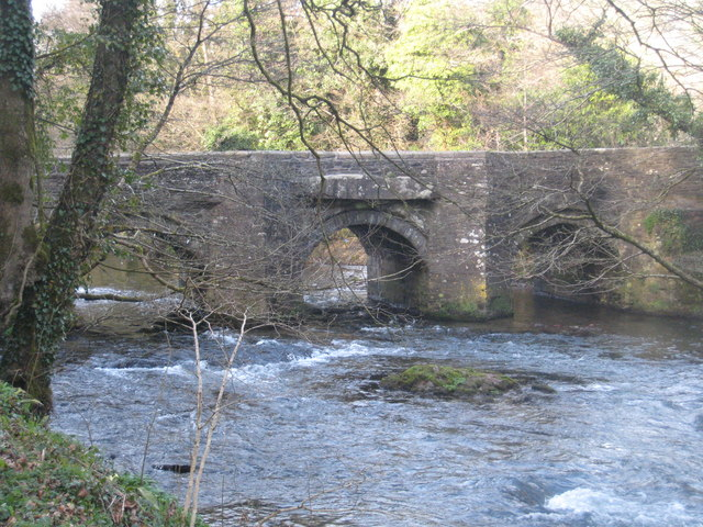 Bridge over the River Lynher at Newbridge