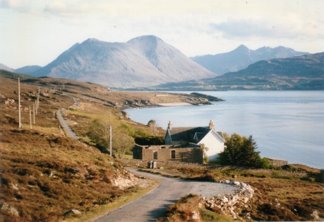 The Cuillin from Raasay