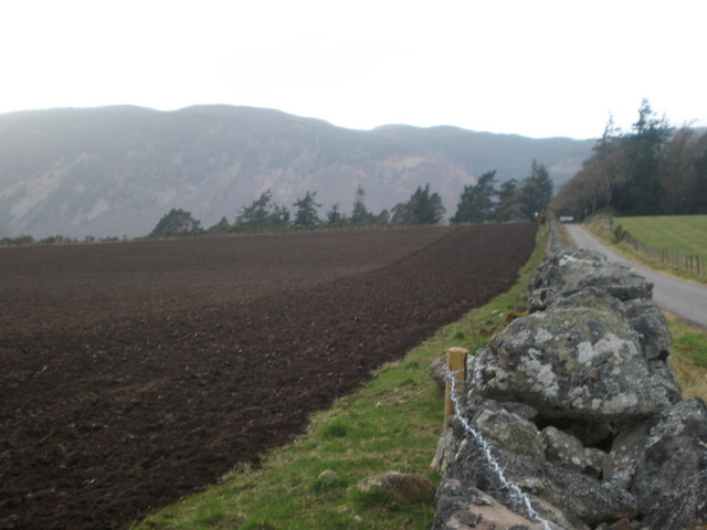 Ploughed Field near Dores