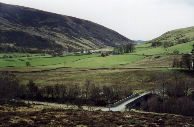 Bridge over the Isla at Little Forter