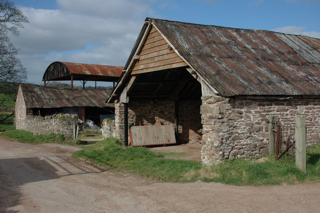 Farm buildings at Lewstone