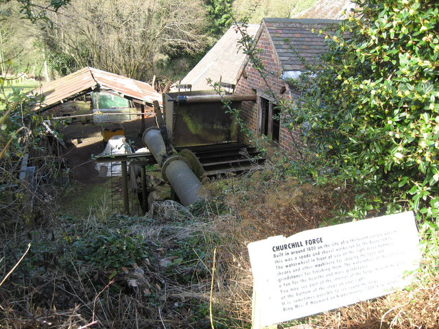 Churchill Forge, Worcestershire