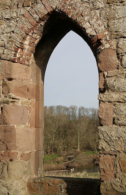 A view from St Cuthbert's Chapel