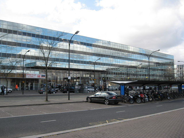 Milton Keynes Central Railway Station