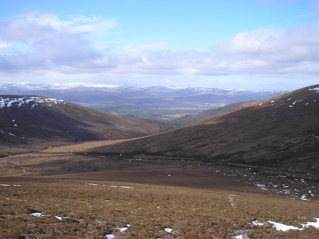 Looking  Northwest into Glen Feshie