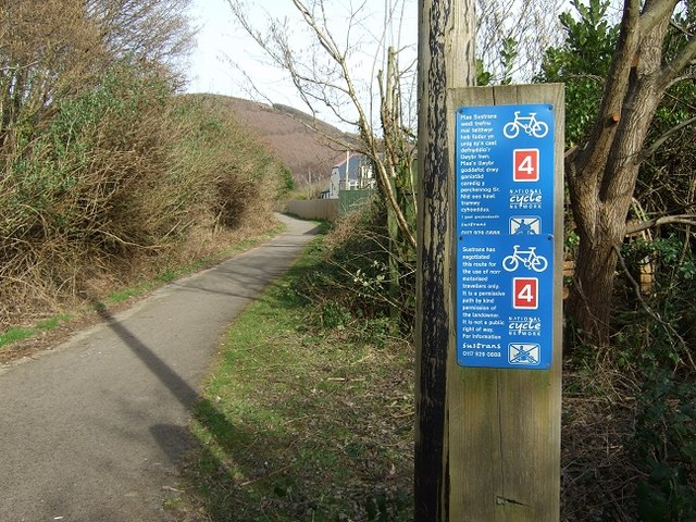 Bedwas to Machen Cycleway