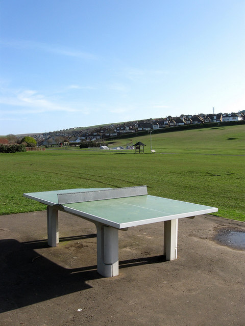 Outdoor Table Tennis, Saltdean Park