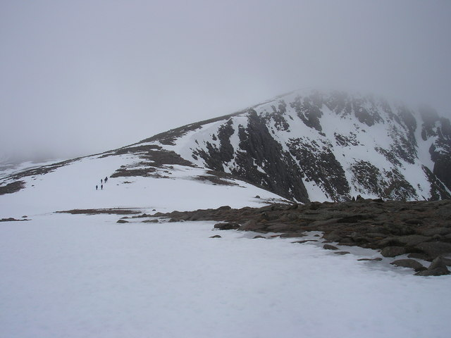 Looking South on the Plateau above Coire an t -Sneachda