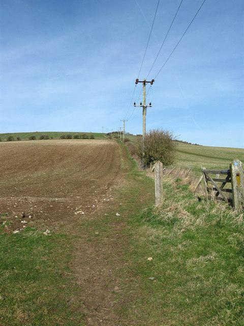 Bridleway to Balsdean