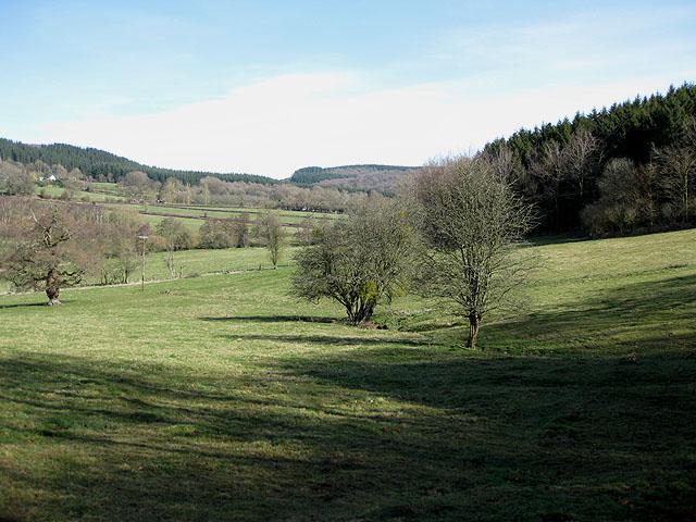 Pentaloe Valley towards the Plantation