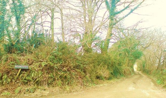 Lane to Mountjoy