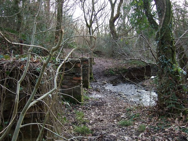 Remains of a Footbridge at Red Brook