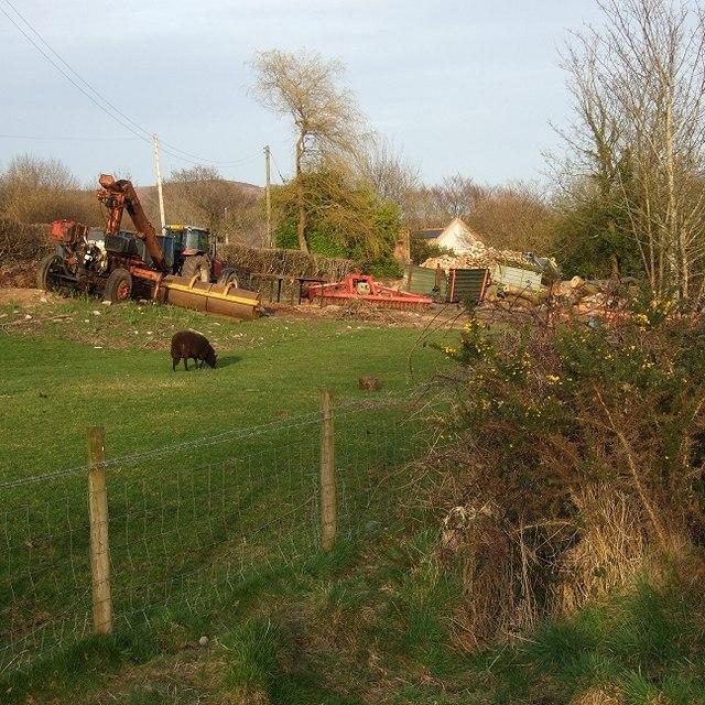 Craig-y-Rhacca Farmyard