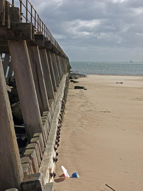 West Pier  and South Beach, Blyth