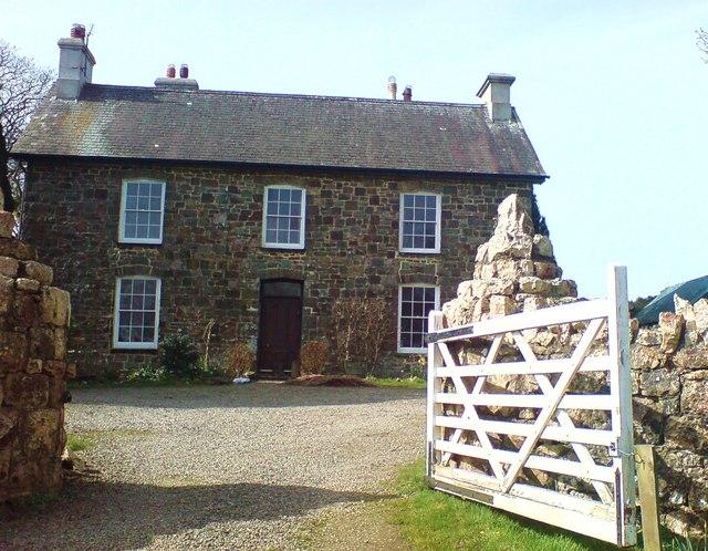 Brimaston Grange farmhouse